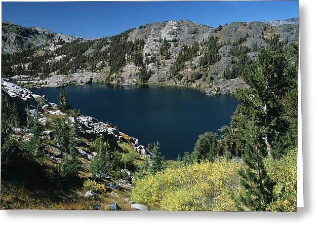 Garnet Lake Fall Color Greeting Card