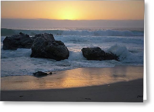 Garrapata Beach Iv Greeting Card by David Gordon