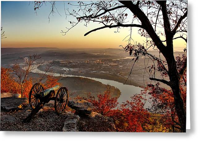 Garrity's Battery Overlooking Chattanooga Greeting Card by Nps