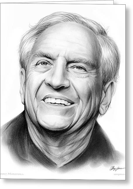 Garry Marshall Greeting Card by Greg Joens