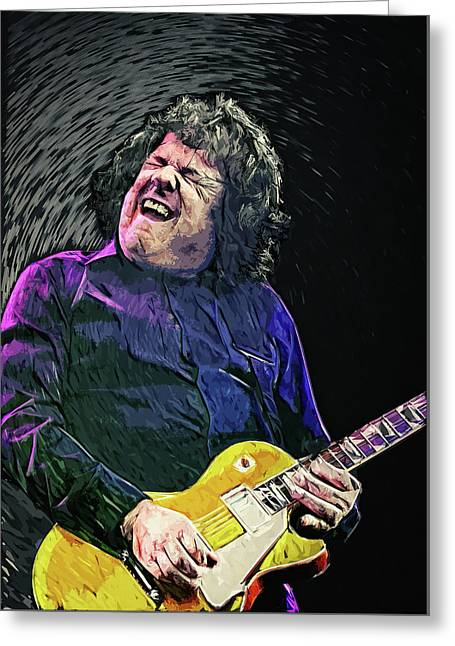Gary Moore Greeting Card
