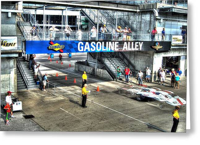 Gasoline Alley 2015 Greeting Card