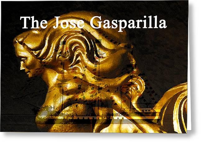 Gaspar's Golden Girl Greeting Card