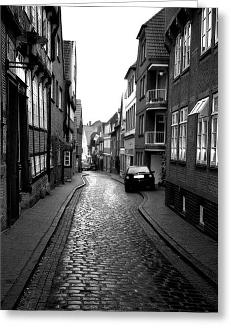Greeting Card featuring the photograph Gasse by Gerlinde Keating - Galleria GK Keating Associates Inc