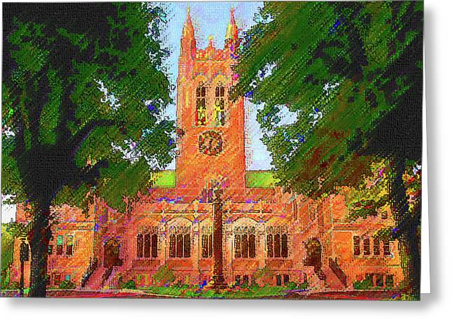 Gasson Hall  Greeting Card