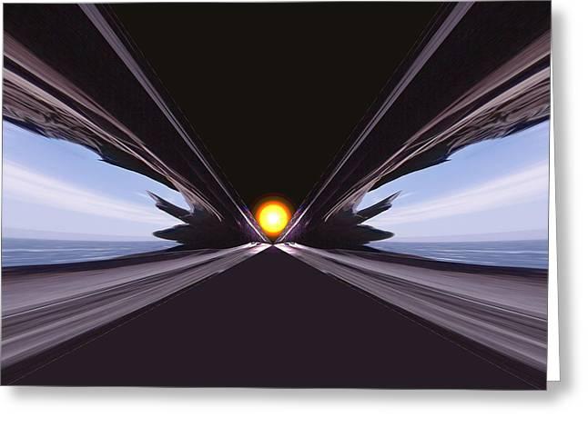 Interstellar Overdrive Greeting Card