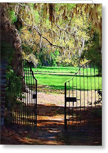 Gate To Heaven Greeting Card