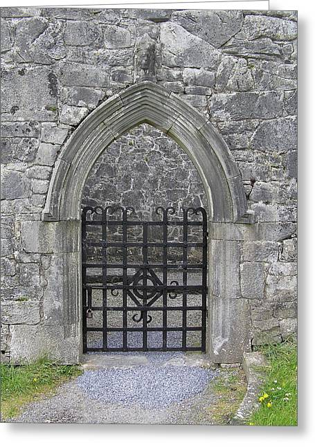 Gate To Irish Castle Greeting Card