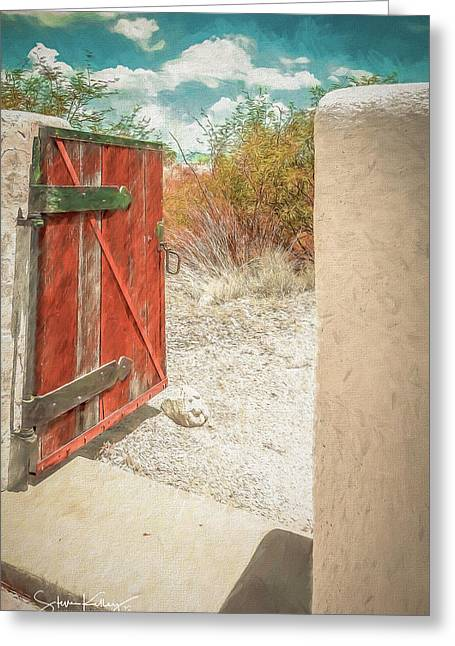 Gate To Oracle Greeting Card