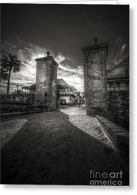 Gate To The City Greeting Card by Marvin Spates