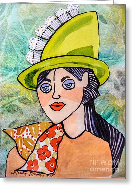 Gateau Chapeau Greeting Card