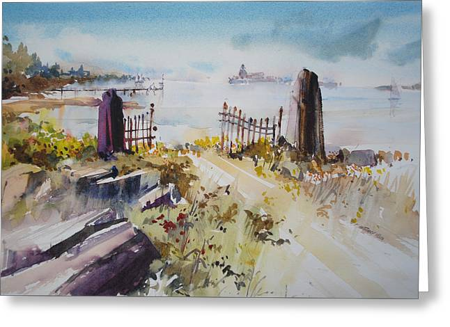 Gated Shore Greeting Card