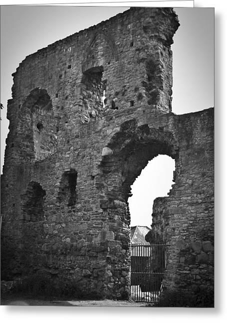 Gatehouse At Nenagh Castle Ireland Greeting Card by Teresa Mucha
