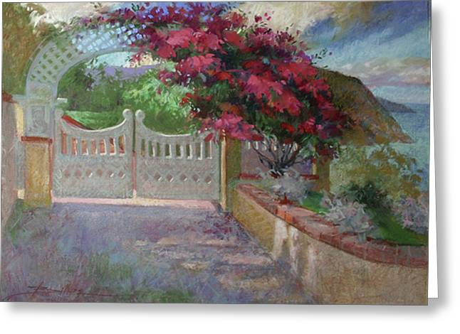 Gateway Splendor - Catalina Island Greeting Card