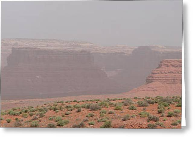 Gateway To Valley Of The Gods Greeting Card by Gregory Jeffries