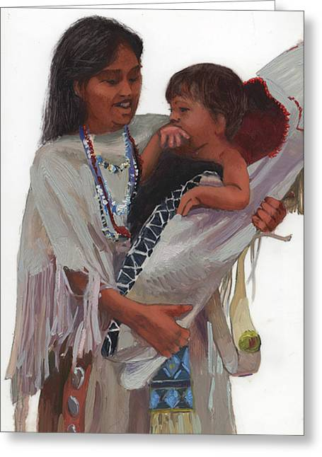 Gathered Tenderness Greeting Card