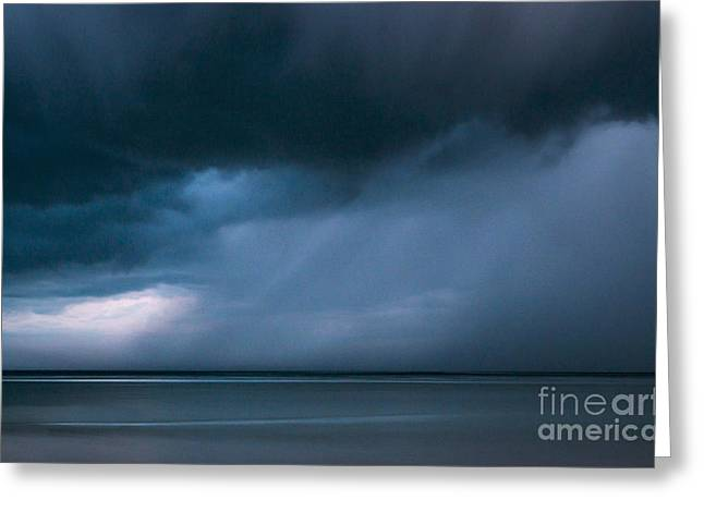 Gathering Storm Greeting Card by John Greim