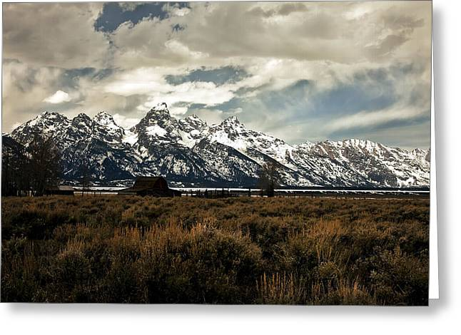 Gathering Storm Greeting Card by Robert  McCord