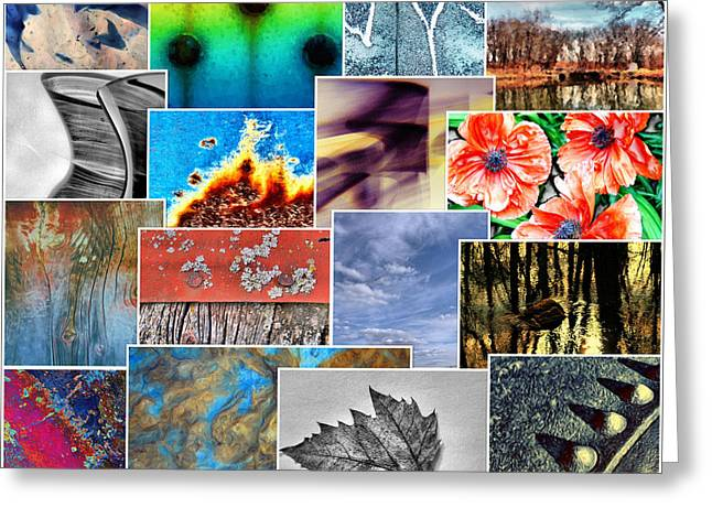 Gathering Greeting Card by Tom Druin