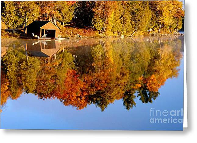 Gatineau Park Taylor Lake Greeting Card