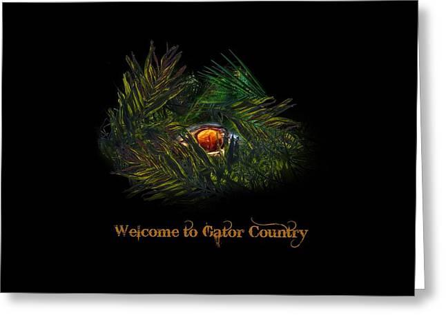 Gator Country  Greeting Card