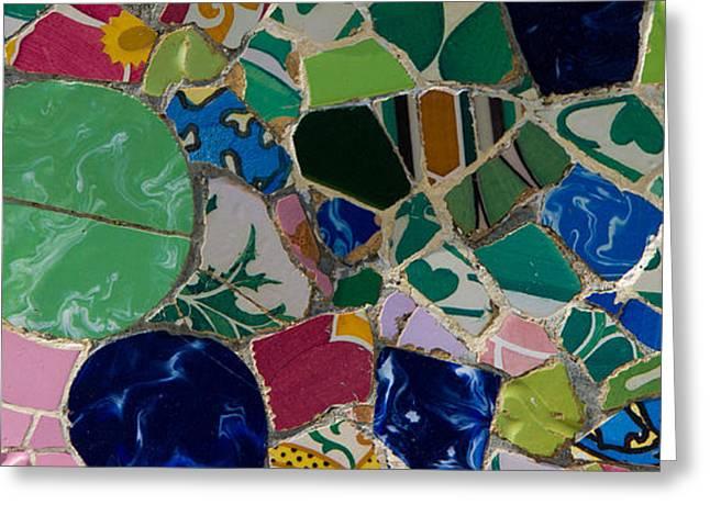 Gaudi Greeting Card by Peter Verdnik