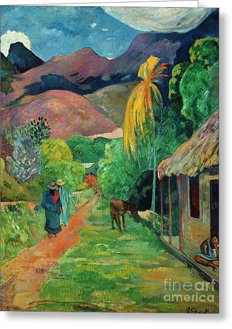 Gauguin Tahiti 19th Century Greeting Card
