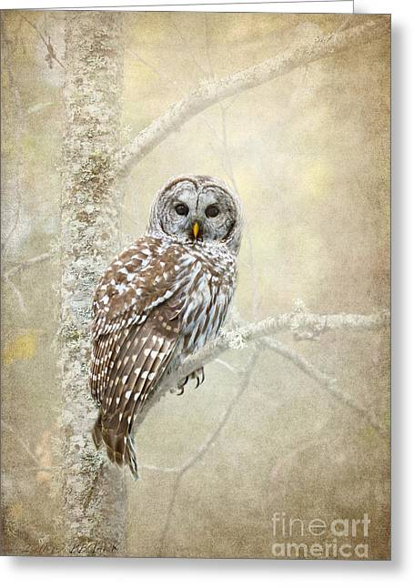 Guardian Of The Woods II Greeting Card