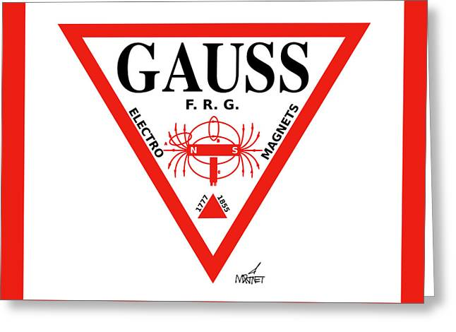 Gauss Greeting Card