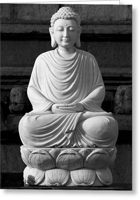 Gautam Buddha Greeting Card