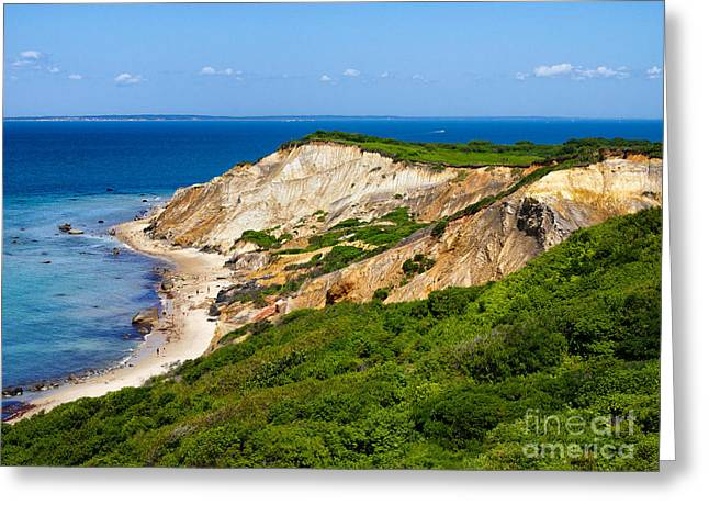Gay Head Cliffs Greeting Card by Mark Miller