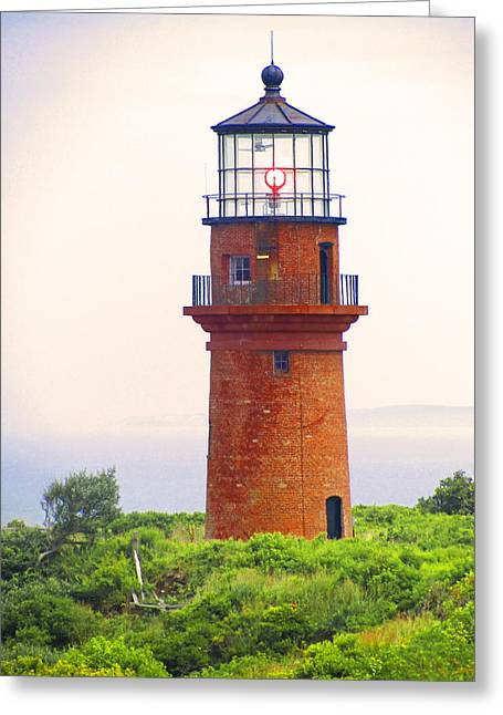 Gay Head Lighthouse Greeting Card by Mark Sellers