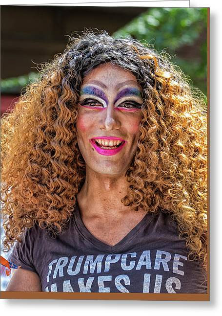Gay Pride 2017 Nyc Drag Queen Greeting Card
