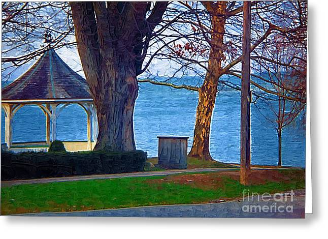Gazebo Niagara On The Lake Greeting Card by Deborah MacQuarrie-Selib
