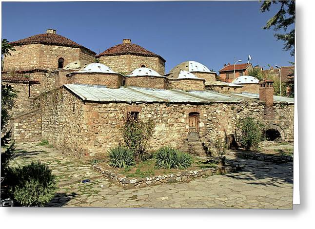 Gazi Mehmet Pasha Hammam Prizren Kosovo Greeting Card