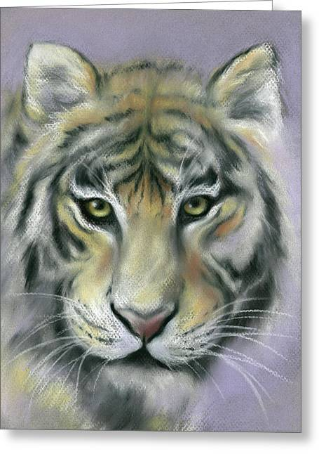 Gazing Tiger Greeting Card