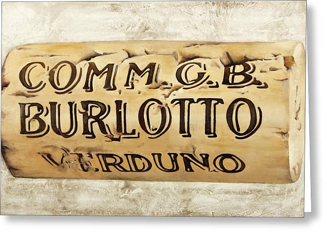 Gb Burlotto Greeting Card by Danka Weitzen