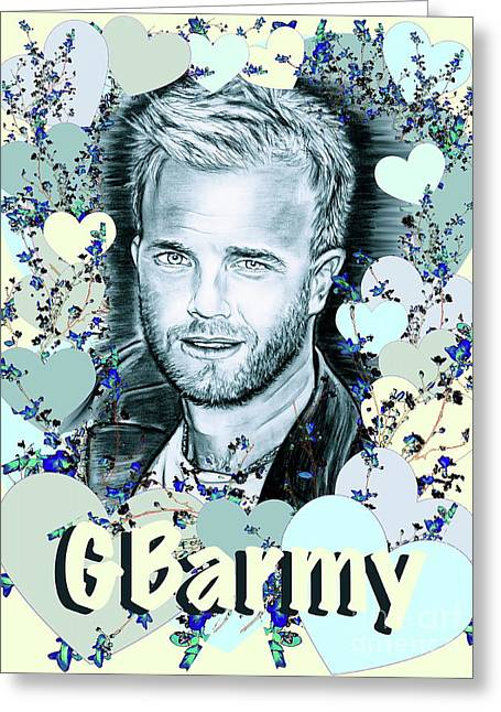 Gbarmy Love  Greeting Card by Gitta Glaeser