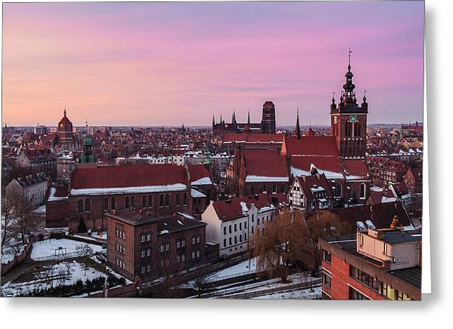 Gdansk 02 Greeting Card