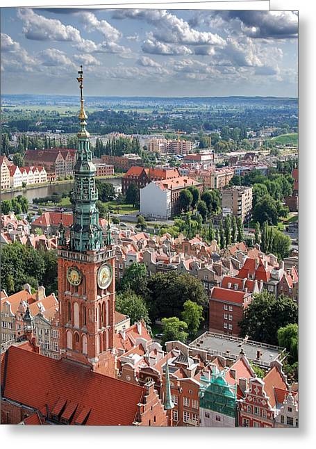 Gdansk Greeting Card