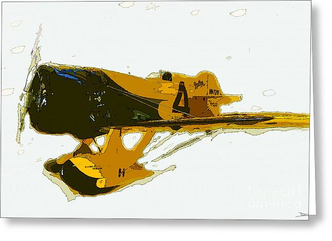 Gee Bee Model Z Greeting Card by David Lee Thompson