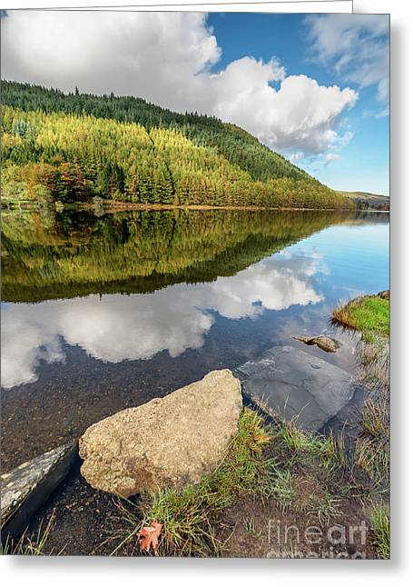 Geirionydd Lake Wales Greeting Card