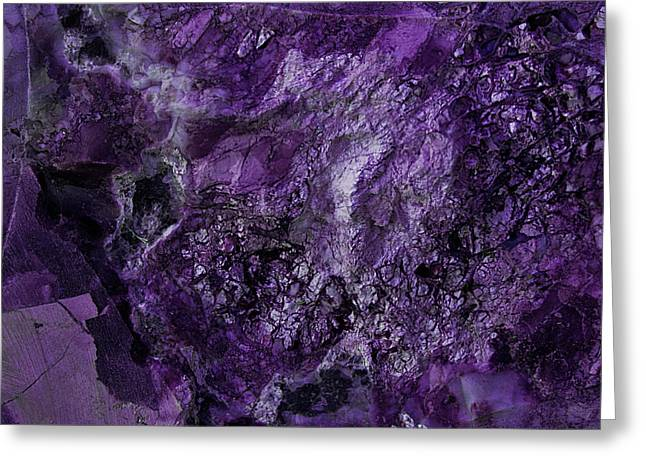Gem 1 In Purple Greeting Card