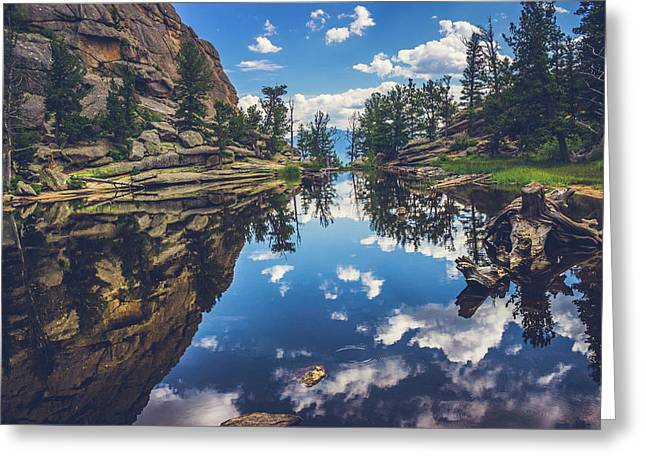 Gem Lake Reflections Greeting Card