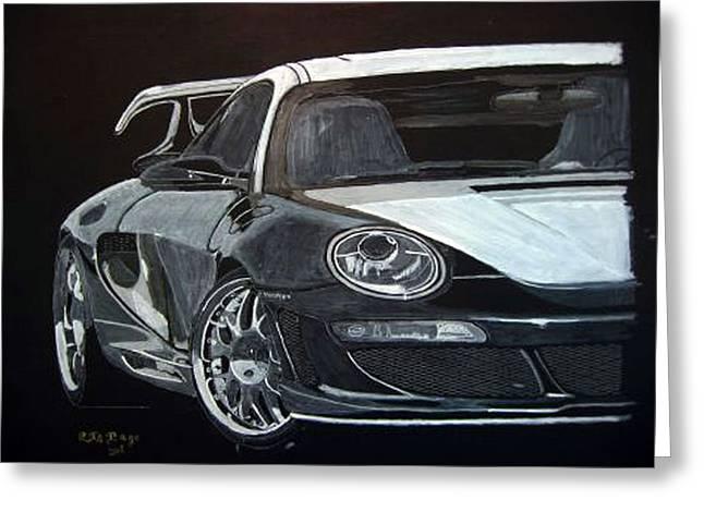 Gemballa Porsche Right Greeting Card