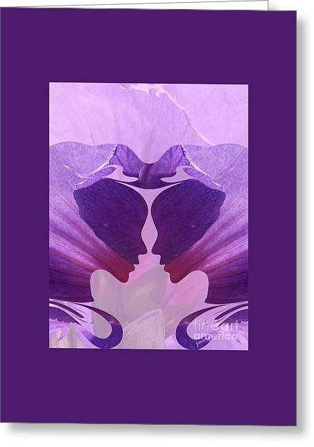 Gemini Love Horoscope Greeting Card