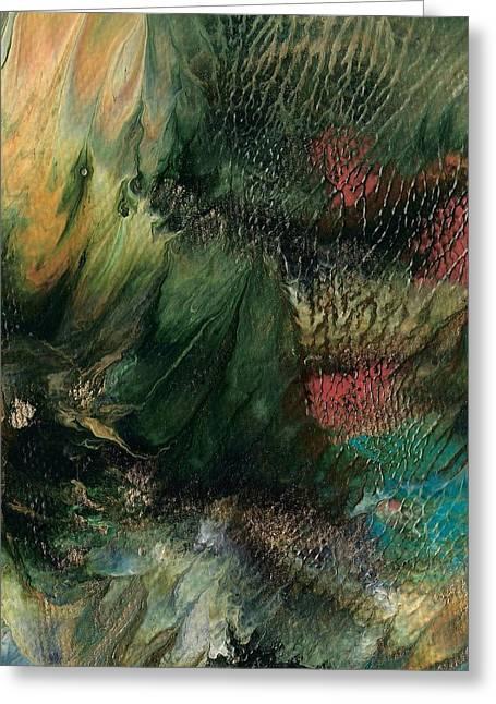 Gems Of The Sea Greeting Card by Linda Stevenson