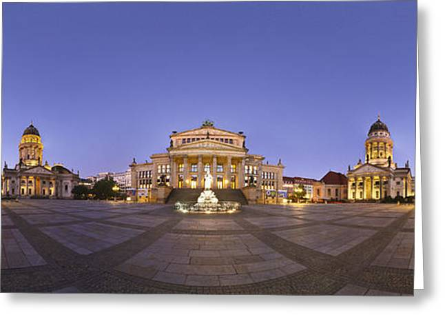 Gendarmenmarkt Berlin Greeting Card by Greta Schmidt