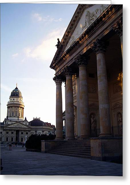 Gendarmenmarkt Greeting Card by Flavia Westerwelle