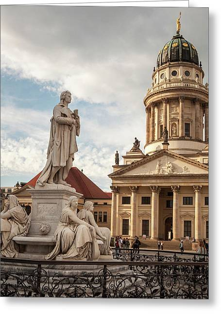 Greeting Card featuring the photograph Gendarmenmarkt by Geoff Smith